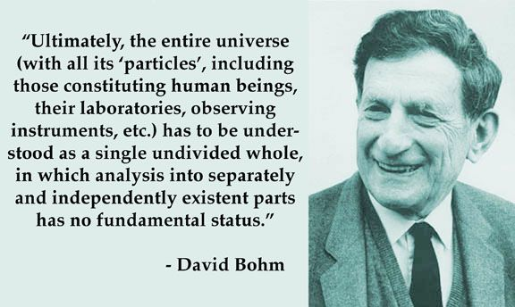 David Bohm on Wholeness