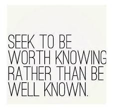 Seek to be