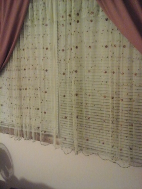 curtains at Moms