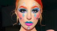 colorful makeup2