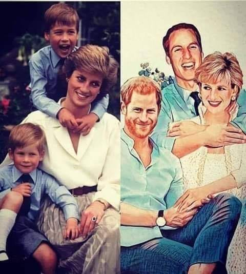 Prince Harry tribute to Princess Diana