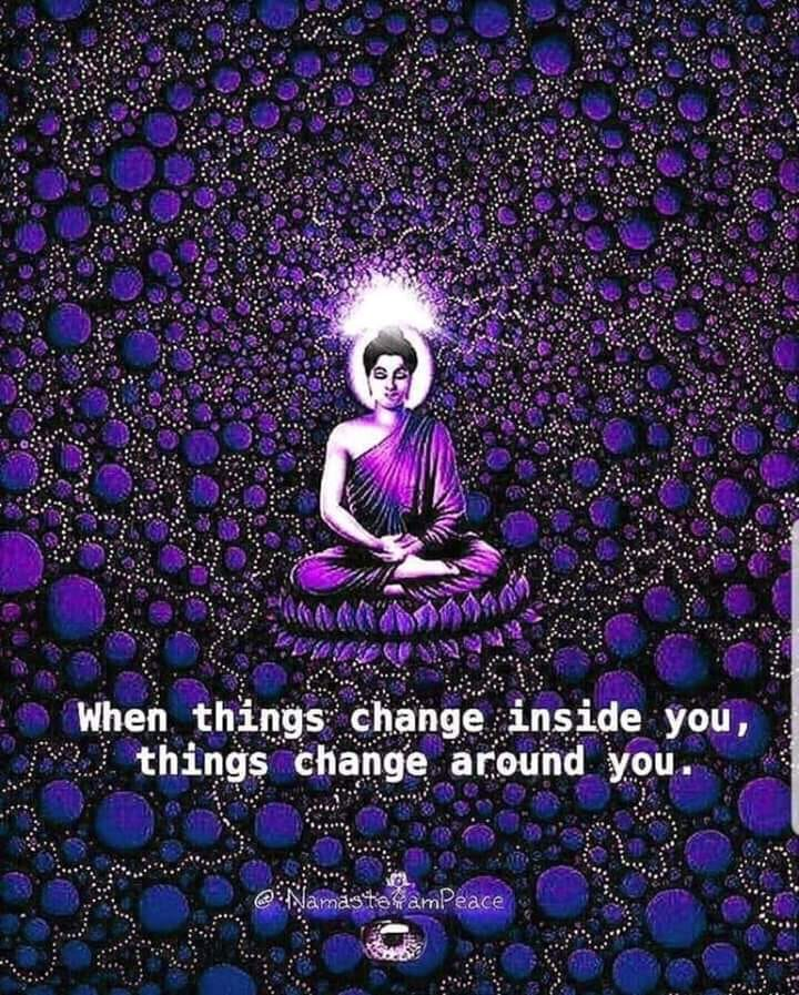 Purple meditation